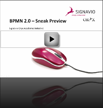 Watch BPMN 2.0 Screencast
